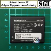 Baterai Handphone Lenovo BL171 A368 A319 Original OEM Batre Batrai HP