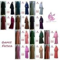 Blouse Muslim Gamis Fathia hijab Alsa