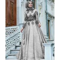BAJU Dress Baju Busana Muslim Wanita Gamis Pesta Terbaru CKR Maxi