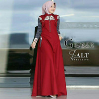 DRESS WANITA BAJU SALT EXECUTIVE DRESS Gween long dress TERBARU