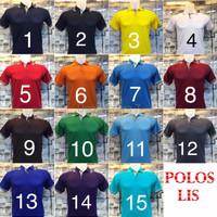 PREMIUM Polo shirt polos ORDER WAJIB CANTUMKAN ZISE WARNA DI CATATAN
