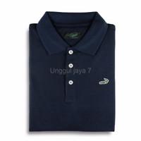 TERLARIS CLAS Dark Navy Baju Pria Crocodile Men Polo Shirt Slim Fit B