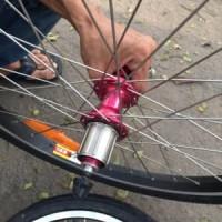 Wheelset Sepeda Lipat Folding Bike 20 inch Bearing Jang Berkualitas