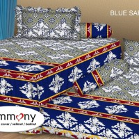 Tommony Sprei Sorong 2 in 1 - Blue Safir