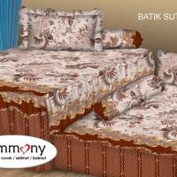 Tommony Sprei Sorong 2 in 1 - Batik Sutra