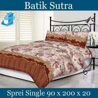 Tommony Sprei Single 90 x 200 - Batik Sutra