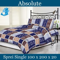 Tommony Sprei Single 100 x 200 - Absolute