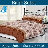 Tommony Sprei Queen 160 x 200 - Batik Sutra