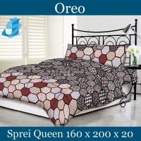 Tommony Sprei Queen 160 x 200 - Oreo