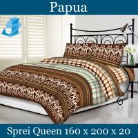 Tommony Sprei Queen 160 x 200 - Papua