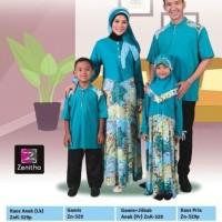Diskon Sarimbit Keluarga Toska - Zenitha - Zn 329 - Baju Muslim