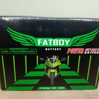 Aki Motor Yamaha Majesty YTX9 FTX10A Fatboy Accu Kering Nano Gel