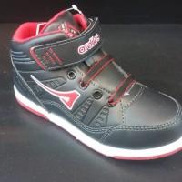 Sepatu Anak Ardiles - Black, Red