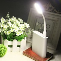 Lampu baca belajar LED USB portable flexible lampu malam murah HHM133