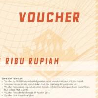 Voucher Monopolis  50 Ribu Rupiah