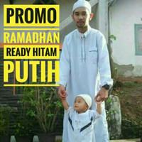 Baju Muslim Koko Gamis Jubah Arab Pria Laki Dewasa 3 Warna