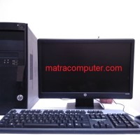 Paket Komputer Gaming HP Pro 3330 core i5 |LED HP 19 wide | GT 1030