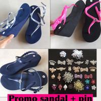 Promo sandal popits kw 7cm + PIN