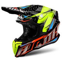Helm Motocross Airoh Twist Iron Orange Gloss