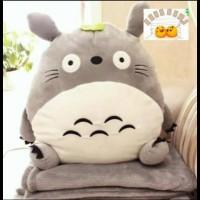 Jual Termurah !!! 03 - Bonmut Boneka Balmut Bantal Selimut Karakter Totoro Murah