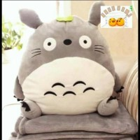 Jual Termurah !!! 03 - Balmut Totoro Boneka Balmut Bantal Selimut Bonmut Murah