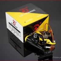 Reel Pancing / Mancing laut 7000 LYW 12 bearing Yellow Metal