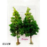 MAKET Pohon Cemara Cabang / Diorama Pohon / Miniatur Pohon 12.5 CM
