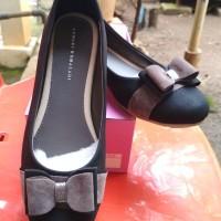 Yongki Komaladi Sepatu Flat/Flat Shoes Black Brown