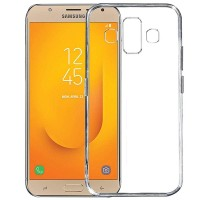 Slim TPU Case Samsung Galaxy J7 Duo Soft Clear Transparant Back Cover