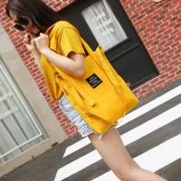 Korea Solid Color Tote shoulder Bag / Tas Selempang Wanita