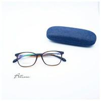 Frame Kacamata Minus Fashion Squared Matte + Lensa Antiradiasi