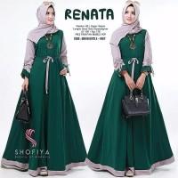 TERLARIS Baju Kekinian muslim wanita Renata 2 pakaian muslim muslimah