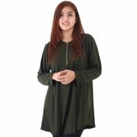 MODEL BARU Baju Premium Wanita Atasan Blouse Muslim Free Size ZETTA J