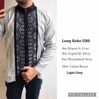 SALE Baju Premium koko panjang UBS pakaian muslim pria wanita anak