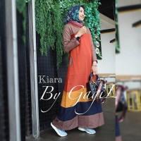 PROMO Baju Kekinian muslim wanita kiara dress pakaian muslim muslimah