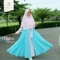 SALE Baju Premium Gamis Syari Maira Dark Tosca pakaian muslim pria wa
