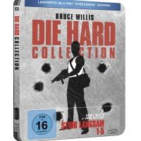 Blu-ray Original Die Hard 1-5 Steelbook Limited Edition Bukan Netflix