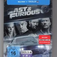 Blu-ray Original Fast & Furious 8 Steelbook bukan Netflix