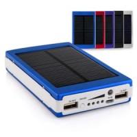 Jual SOLAR POWERBANK 20000MAH PANEL SURYA POWER BANK 10000 MAH Li-ION Murah