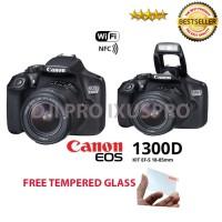 CANON EOS 1300D KIT 18-55MM III WIFI - KAMERA CANON EOS 1300D + LENSA