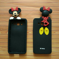 Soft Casing samsung Galaxy J5 3D Minnie preloved/second/bekas