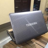 Laptop Toshiba L745 Core i3 Baterai Baru Tahan 2 jam lebih