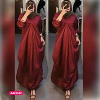 Gamis wanita muslim dress pesta dina