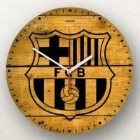 Jam Dinding Kayu Barcelona 3c68d02357