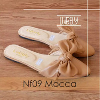 Lubely Flatshoes NF09 - Mocca