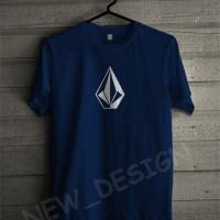 Baju Kaos T-shirt Volcom Simple keren Pria Wanita  Warung Kaos