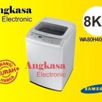 Mesin Cuci Samsung 8Kg - WA80H4000 SW / WA80 H4000SW - 1 TABUNG