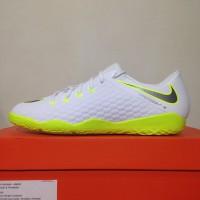 5b6aeb771 Sepatu Futsal Nike Phantom X 3 Academy IC White Volt AJ3814-107 Ori
