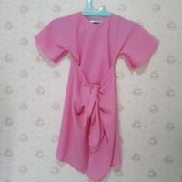 Kaftan ikat anak / bayi warna pink