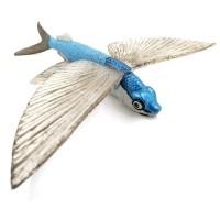 Mainan Edukasi Pajangan Koleksi Exocoetidae Flying Fish Ikan Terbang